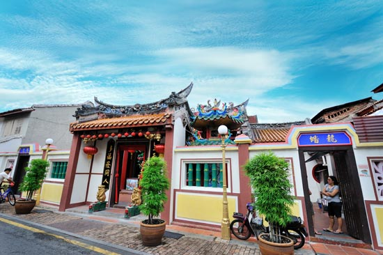 malacca places of interests